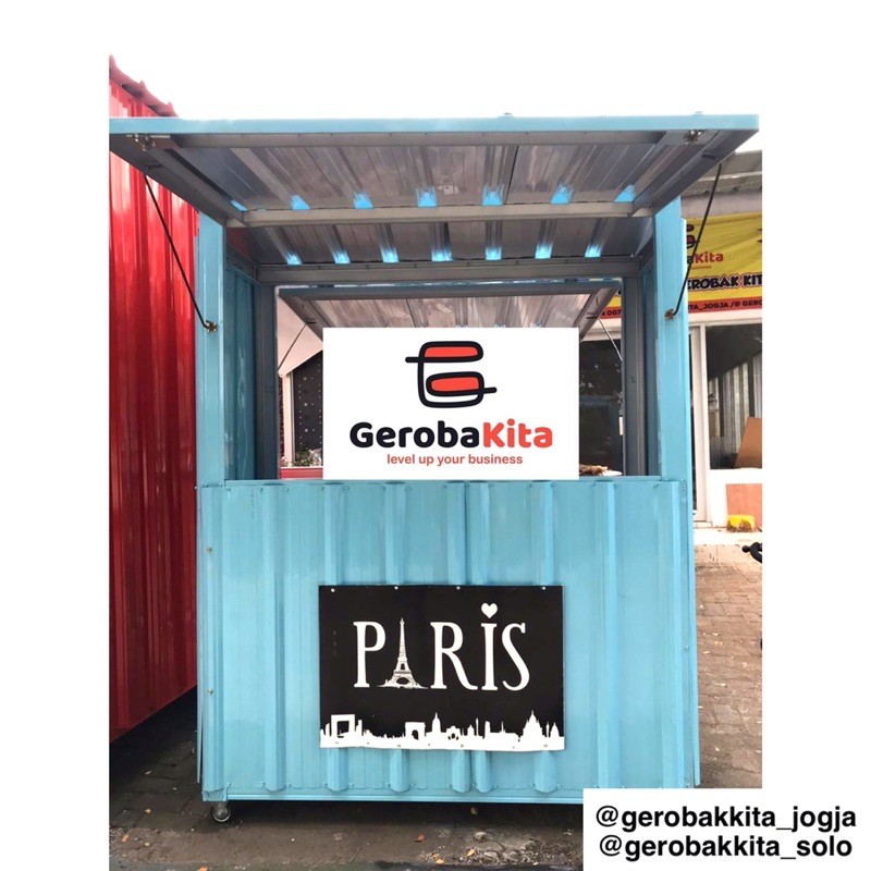 Booth container  termurah / gerobak container / booth container murah / gerobak semi kontainer murah