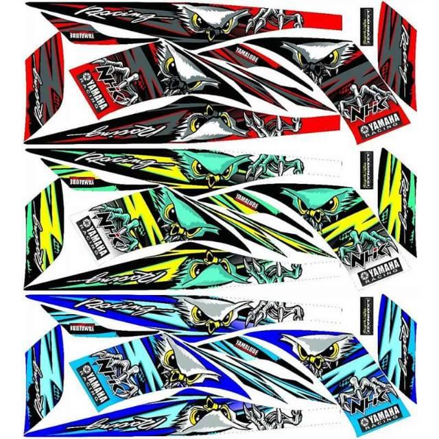 Striping Lis Sticker Variasi Yamaha Jupiter Z Z1 Motif Burung