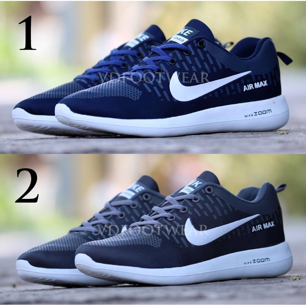 Sepatu Nike Airmax Free Flyknit Pria Murah . Sepatu Hitam Air Max Cowok  Murah  933fb2d5e1