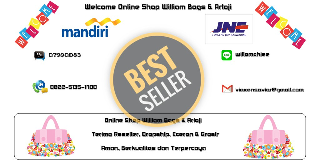 Toko Online William Bags Arloji Shopee Indonesia