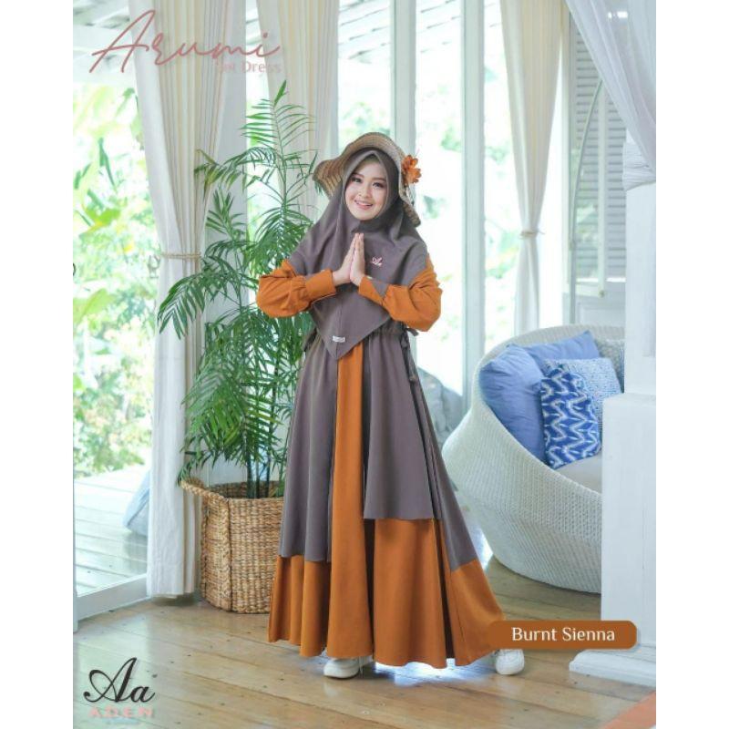 Ready Gamis syar'i original Arumi by Aden hijab