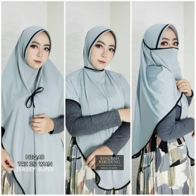Tk Hijab 3 In 1 Hijab Masker Hijab Cadar Hijab Niqob Jilbab Masker Kerudung Masker Jilbab Niqob Shopee Indonesia