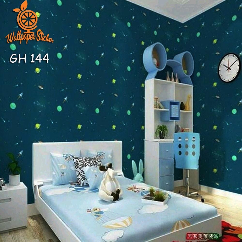 Murah Wallpaper Sticker 10m Stitch Walpaper Stiker Dinding Motif Kartun Karakter Stitch Shopee Indonesia
