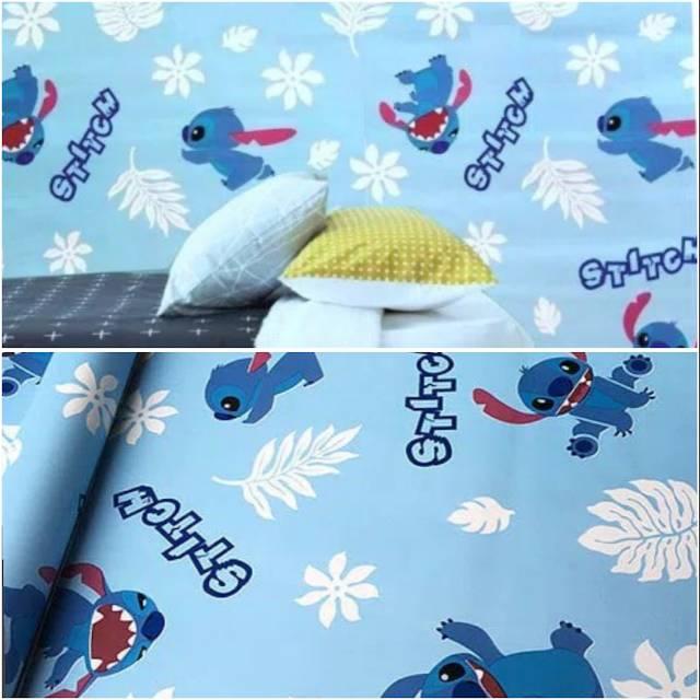 Wallpaper Dinding Termurah Kamar Tidur Anak Stitch Biru Lucu Promo Wallpaper Big Sale Wallpaper Shopee Indonesia