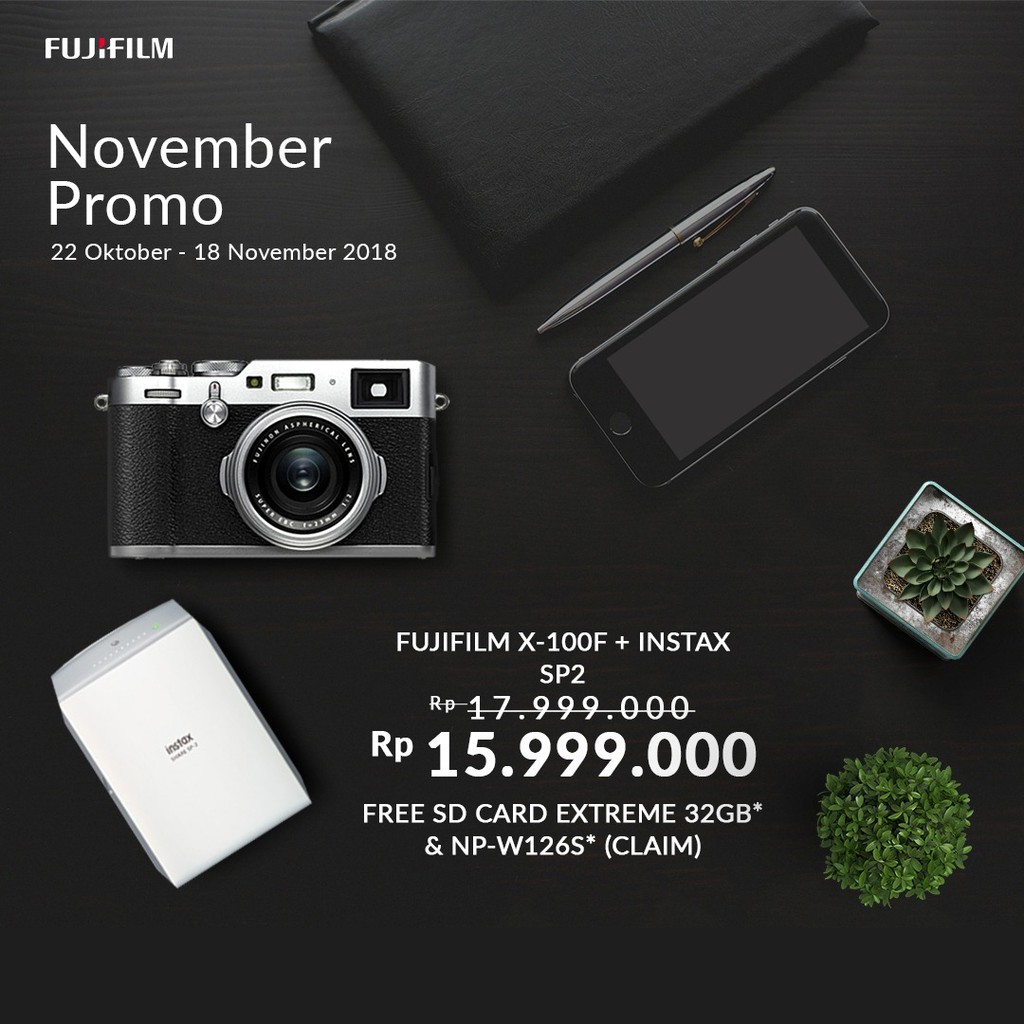 Fujifilm Xa10 Kit Xc 16 50mm Sd 16gb Pink Shopee Indonesia X T20 15 45mm Silver Instax Share Sp2