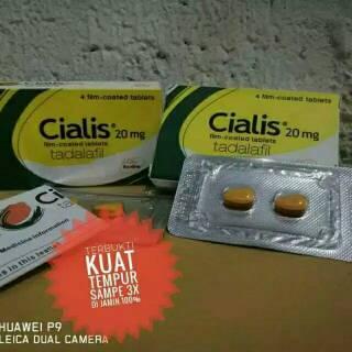 Termurah Obat Cialis Tadalafil 20mg Original Tablet Cialis Asli Menambah Stamina Pria Shopee Indonesia