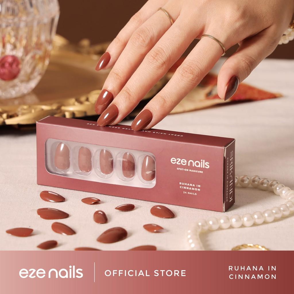 Ruhana in Cinnamon – Eze Nails Spot On Manicure