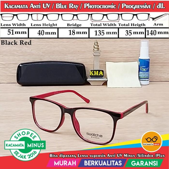 frame kacamata minus (frame+lensa) anti radiasi yk 1009 kaca mata ... 78f5020901