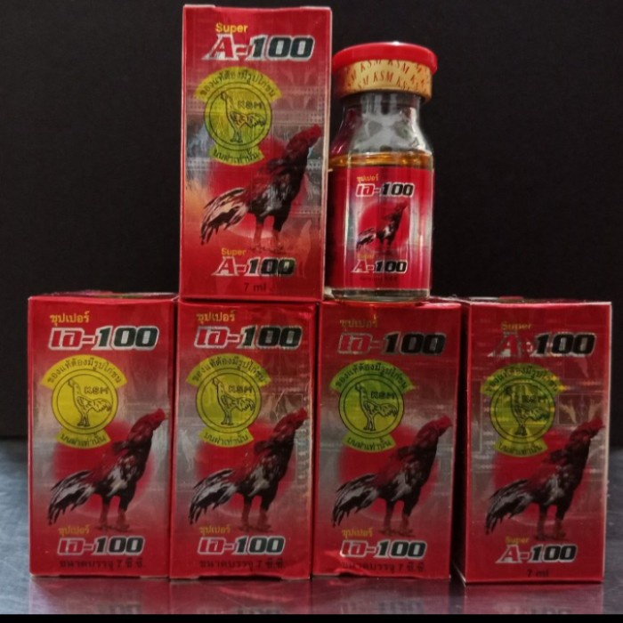 Super A-100 Vitamin Obat Ayam A 100 Antibiotik Obat Ayam