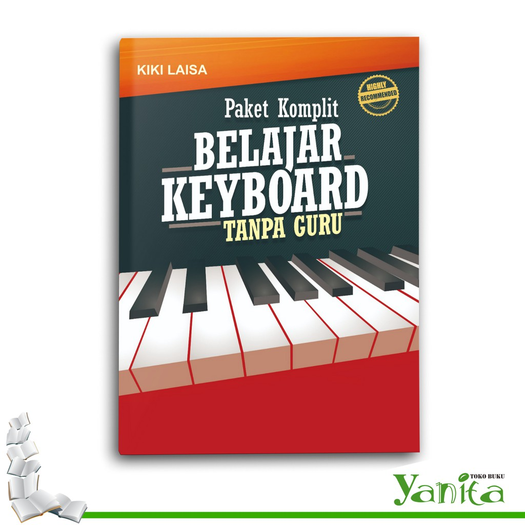 Buku Paket Komplit Belajar Keyboard Tanpa Guru Shopee Indonesia