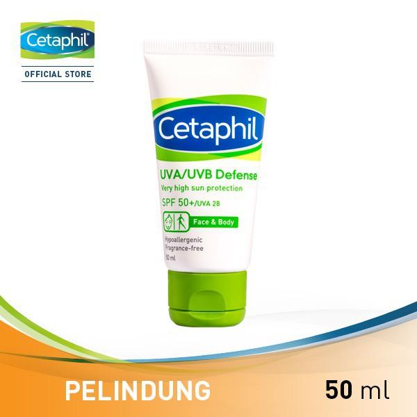 Cetaphil UVA UVB Defense Spf 50 50ML SPF50+ 50 ML SPF50+/UVA28 | Shopee Indonesia