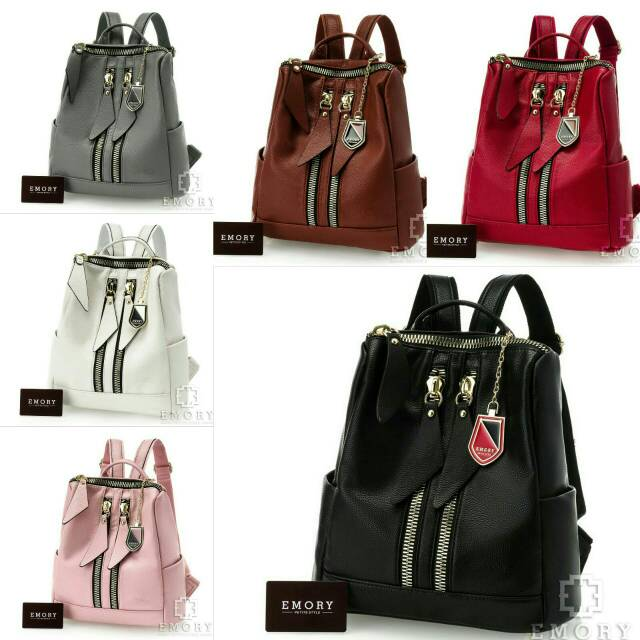 NEW BEST SELLER Tas Ransel EMORY Delliany ORIGINAL BRAND EMBOSSED Tas  Import Tas Batam  d21912a62c