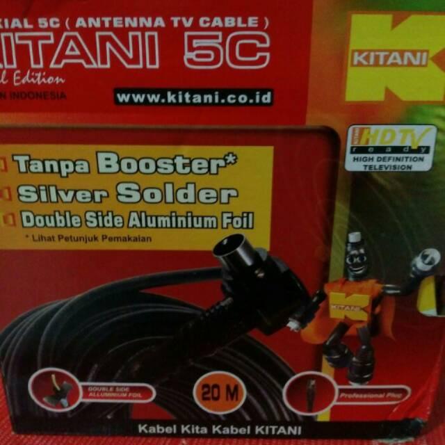 EELIC CSA-8620ED6 MIX PENGUAT SINYAL 20 dB CATV BOOSTER INDOOR 2W TELEVISI+ KAA-10M KABEL ANTENA TV | Shopee Indonesia