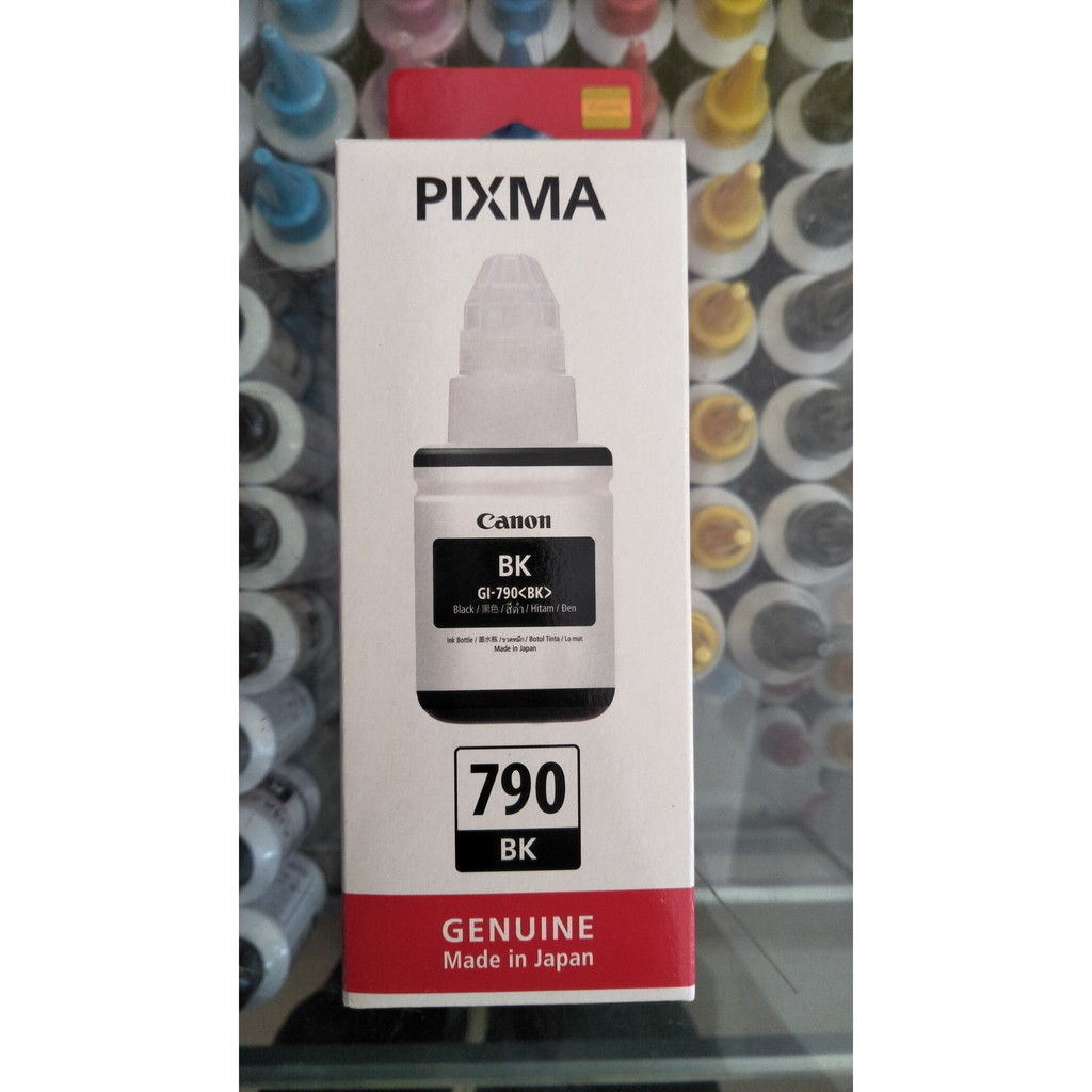Canon Tinta Botol Gi 790 Hitam Daftar Harga Terlengkap Indonesia Pigment Ultimate Plus Uv G1000 G2000 G2003 G3000 Yellow 70 Ml Original