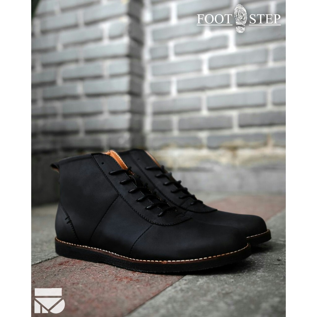 Dr Kevin Men Boots Shoes 1045 Black Shopee Indonesia Formal 13343 Hitam 41
