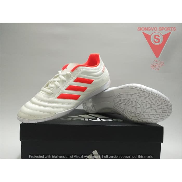 08c69068c SEPATU FUTSAL ADIDAS COPA 19.4 IN ORIGINAL D98073 OFF WHITE 2019 ...