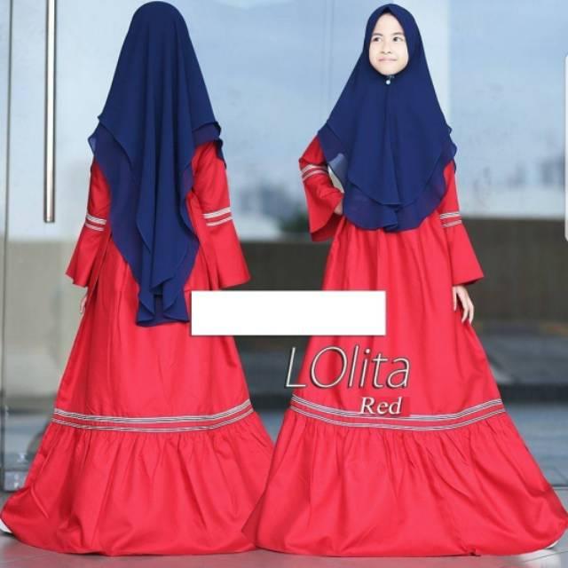 Gambar Baju Lebaran Untuk Anak Perempuan Nusagates