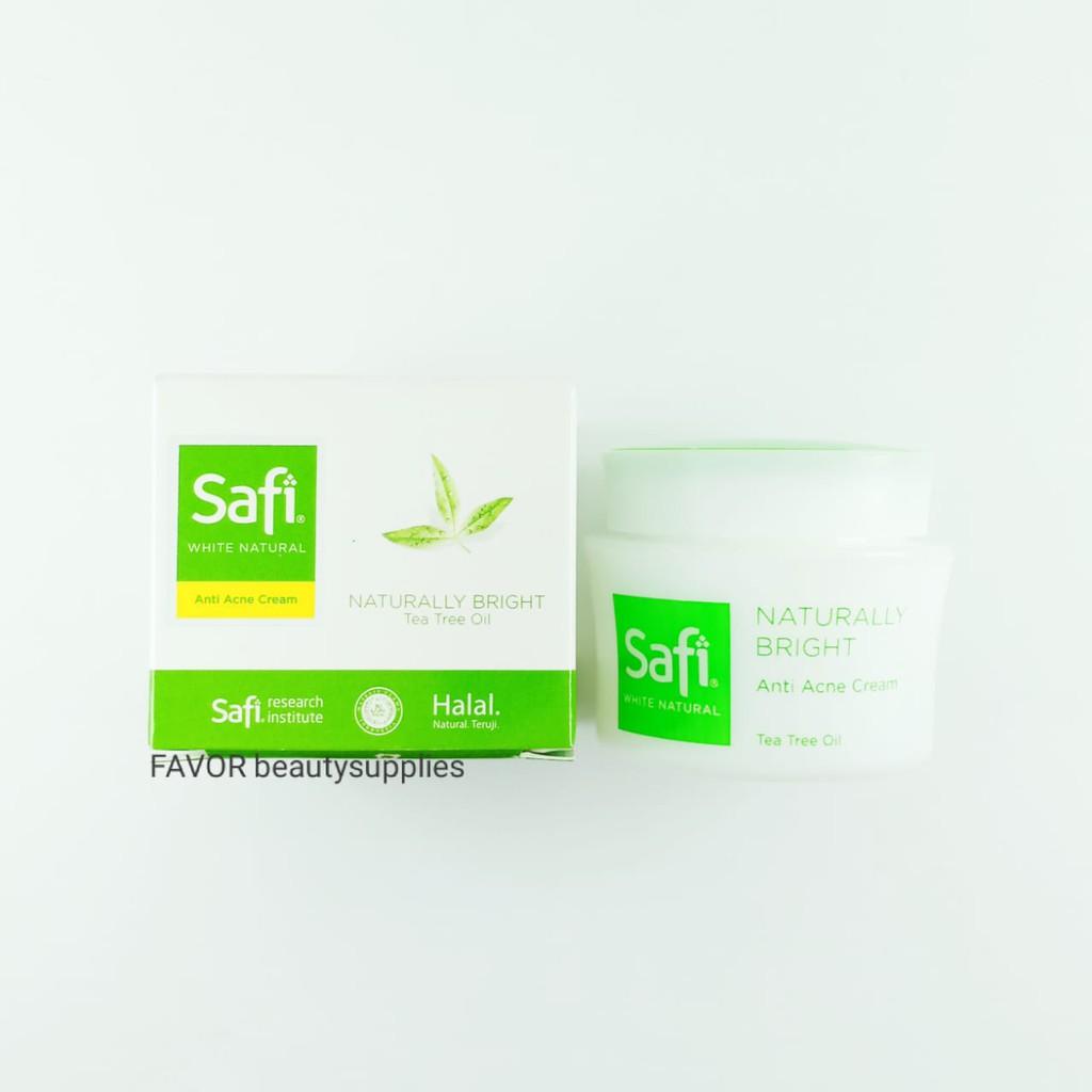 Safi White Natural Anti Acne Cream 20g Shopee Indonesia