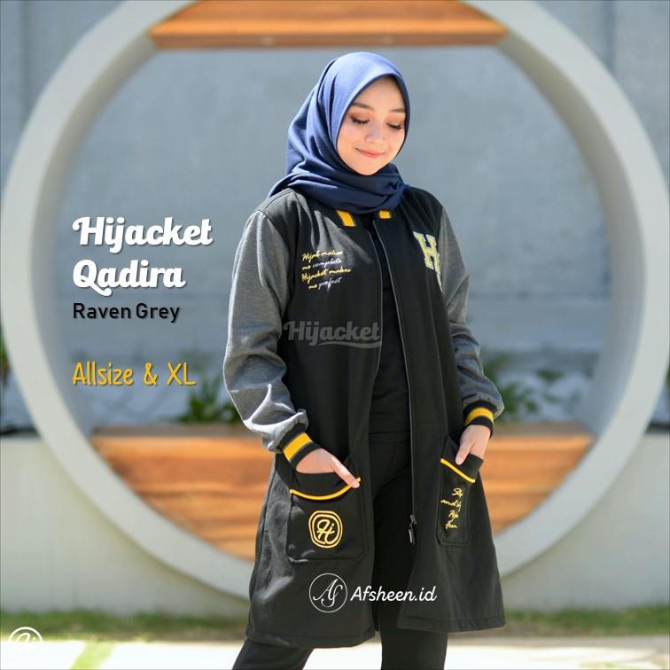 HIJACKET QADIRA - HJ QD RAVEN GREY  3f03b5befa
