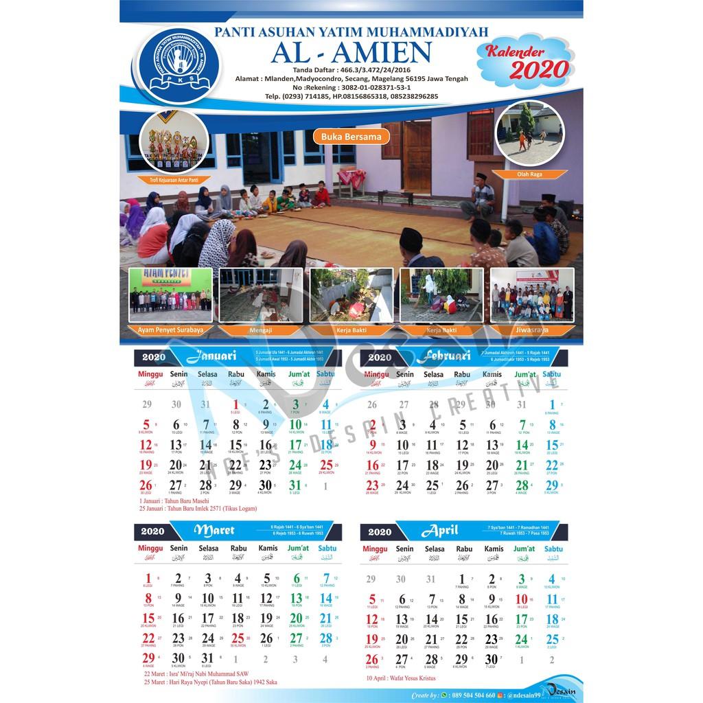 Desain Kalender Dinding Keren - Kumpulan Contoh Desain ...