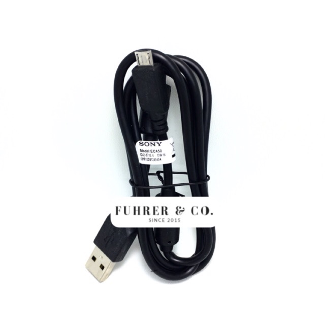 Kabel Data Charger Cable USB Sony EC450 EC-450 Micro Universal Original