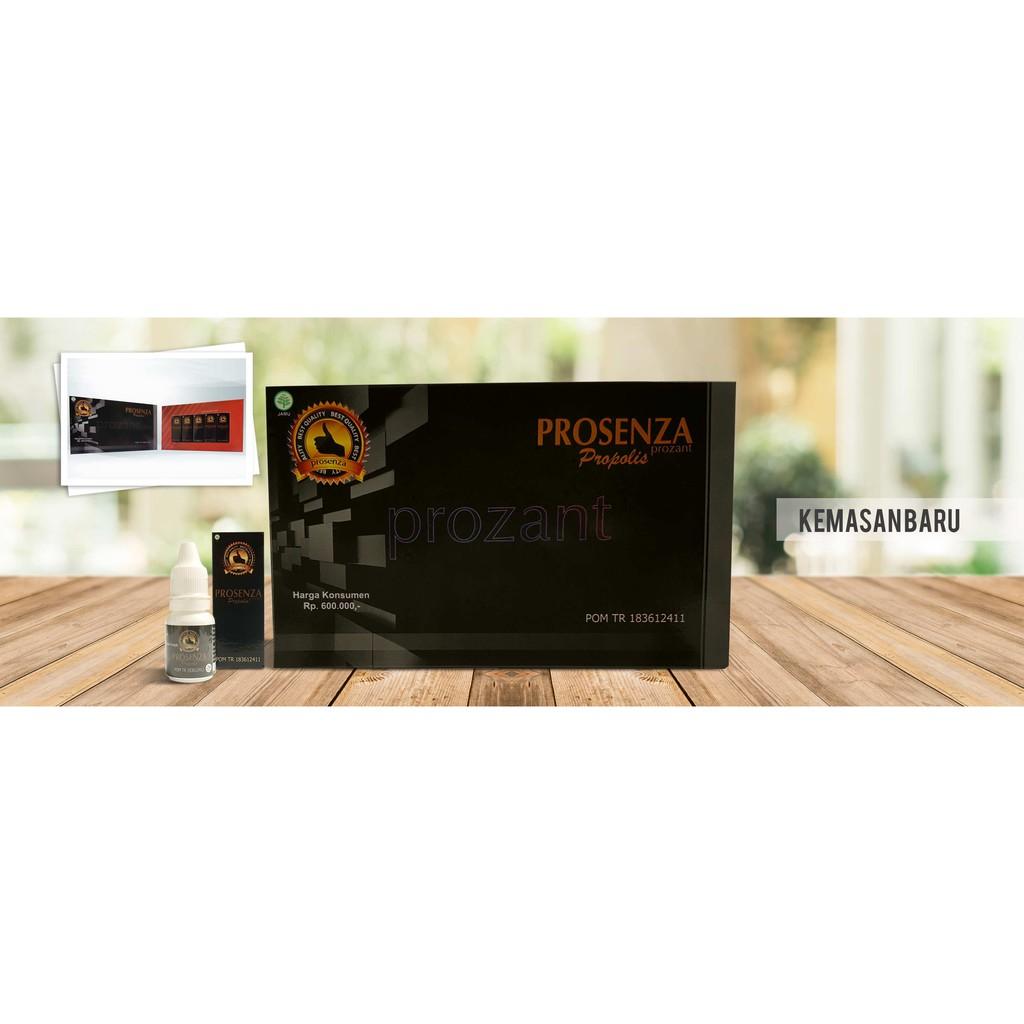 Prosenza Propolis Prozant Isi 5 Botol Berbpom Shopee Indonesia Moment Original Kemasan  1 Box