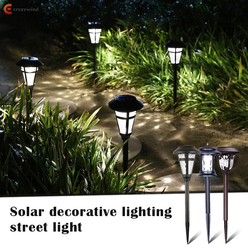 Solar Pathway Lights Outdoor Super Bright High Lumen Solar Powered Led Garden Lights For Lawn Patio Yard Shopee Indonesia