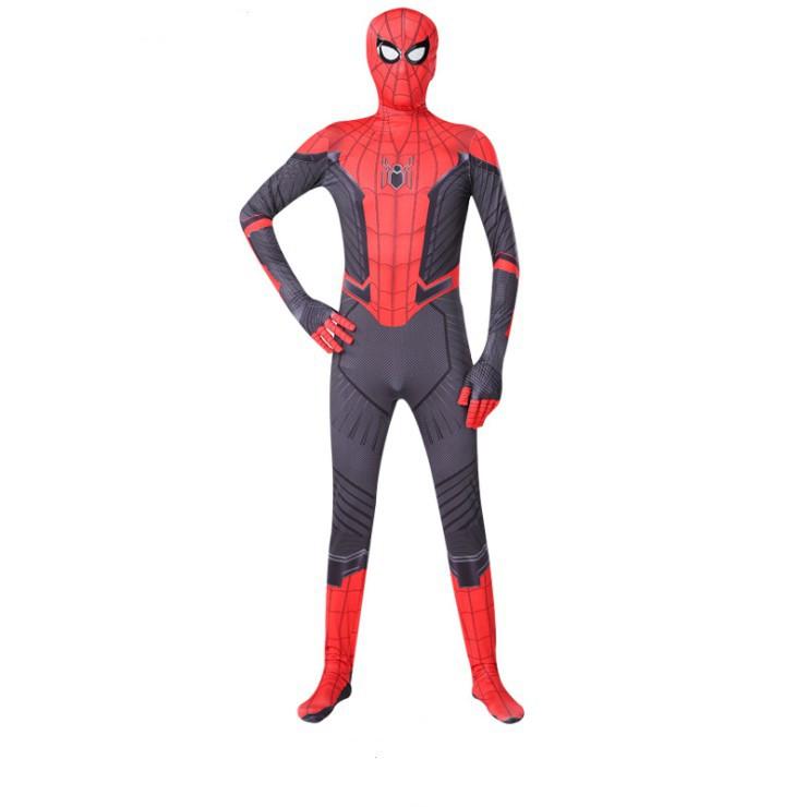 New Cosplay Marvel Spider-Man Costume Fancy Dress Spiderman Tights Zentai Suit