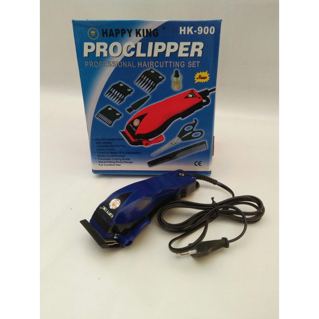 Proclipper Happy King Hk 900 Alat Cukur Rambut Happyking 803 Mesin Hk900 Box Kuning Shopee Indonesia