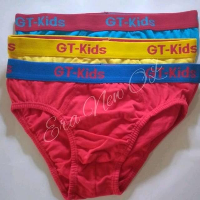 Pakaian dalam Celana dalam Underwear Daleman cd anak laki-laki GT Man kids  junior isi 3 uk M - XL  44b01a25e7
