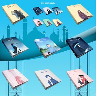 Binder Custom A5 B5 Muslimah Hijab - Notes / Notebook