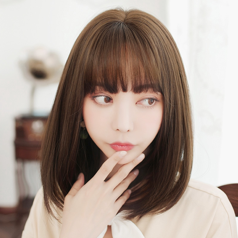Wig Rambut Palsu Pendek Poni Depan Model Bob Gaya Jepang Untuk Wanita Fxm 1272 Shopee Indonesia
