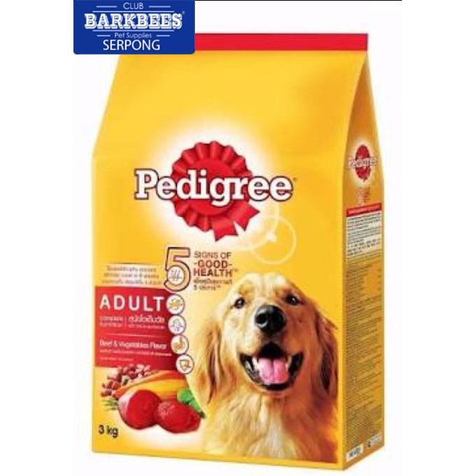 Pedigree Dewasa Dry Dog Food Repack 500gr Makanan Anjing Kiloan Murah Shopee Indonesia