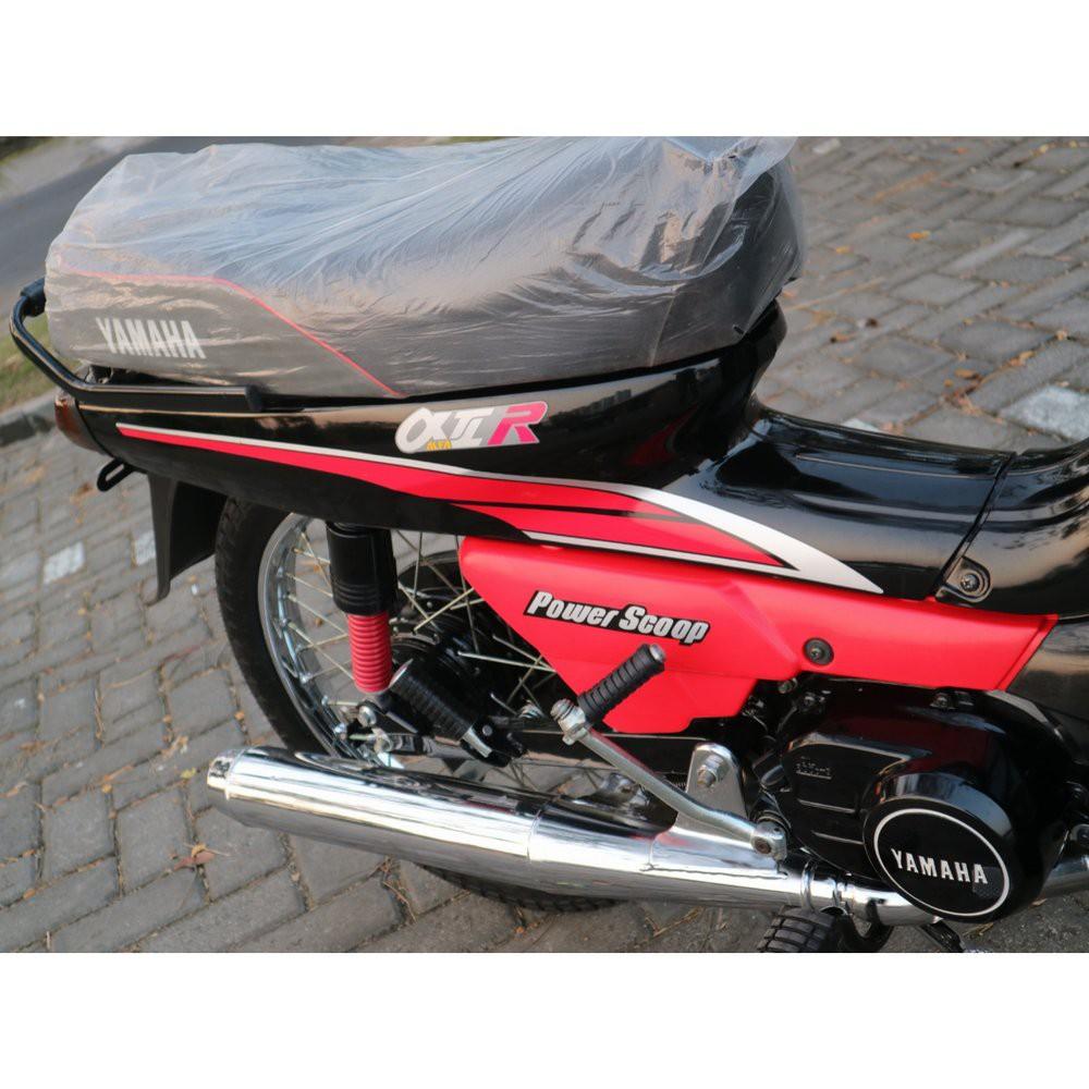 Yamaha Alfa Yamaha Alfa Champ Cover Jok Kulit Jok Merah Shopee Indonesia