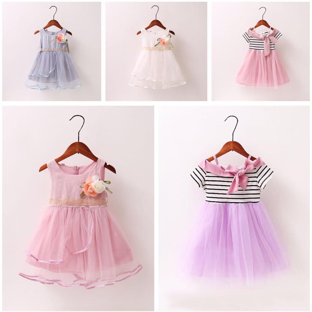 Macbee Kids Baju Anak Dress Chika Polka Variasi Lengan Sabrina Sailor Laura Size 3 Navy Shopee Indonesia