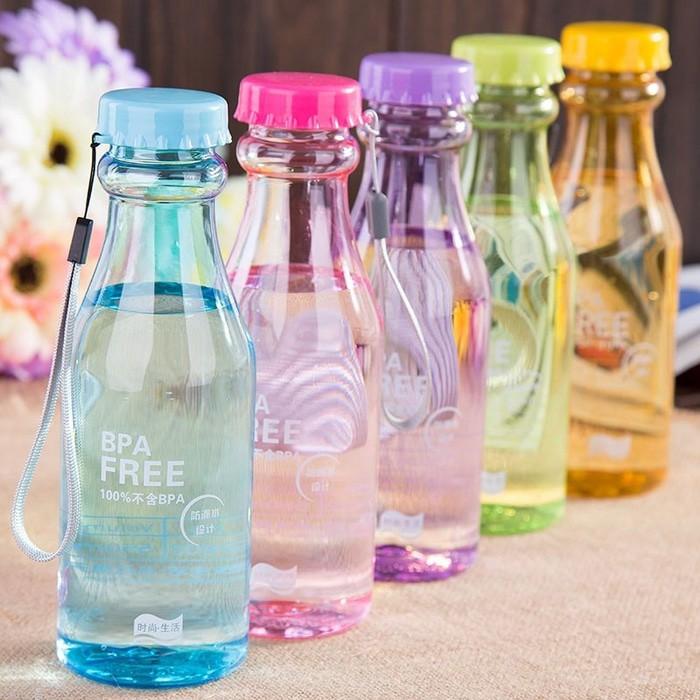 Botol minum Soda Bening Transparant BPA Free 550 ml B29 1