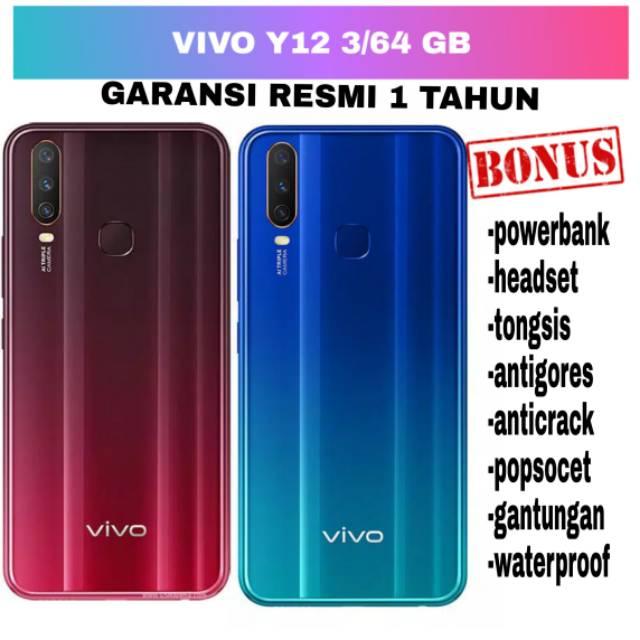 VIVO Y12 3/64GB BONUS AKSESORIS