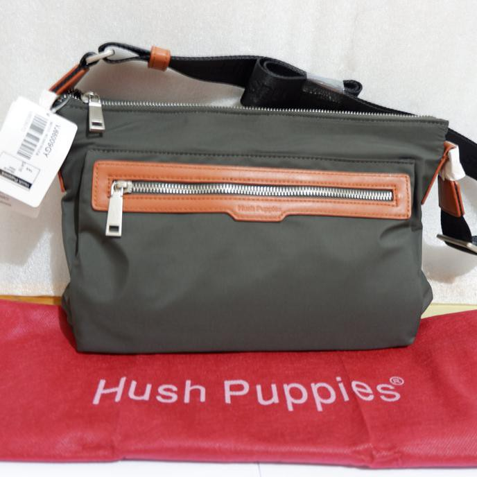 ORI COUNTER!! TERMURAH!! TAS SELEMPANG SLING BAG HUSH PUPPIES ... dccd064b01