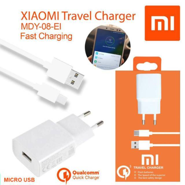 Qualcomm Adaptor Travel Charger Dinding Quick Charge 3.0 Single Port USB, Plug EU US UK 5V 9V 12V | Shopee Indonesia