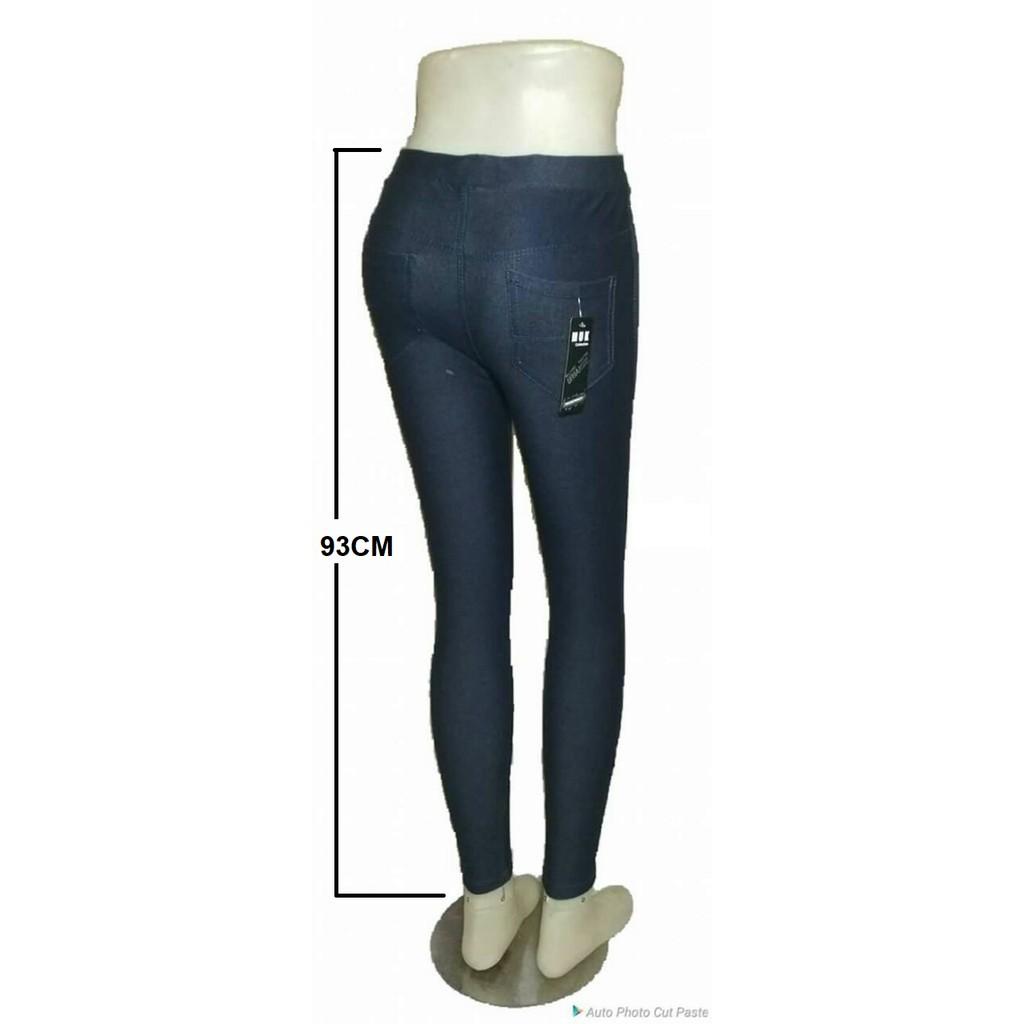 Dapat 3 Celana Legging Berkantong Bahan Tebal Adem Lembut Shopee Indonesia