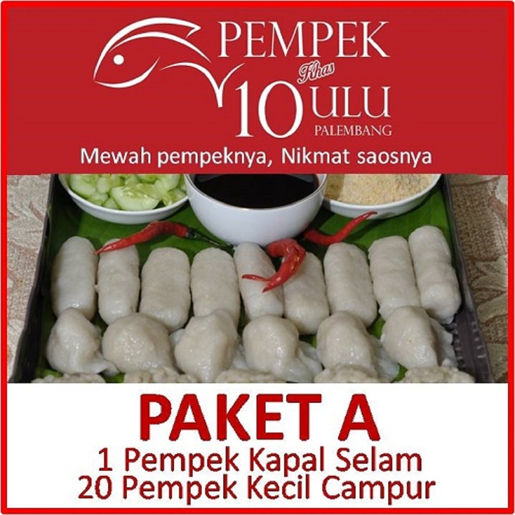 Pempek Candy Palembang Paket 200rb Besar Dan Kecil Shopee Indonesia A