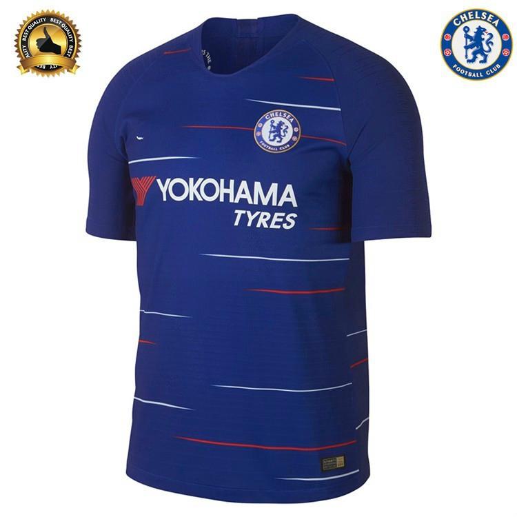 c231ca7f8 atas kualitas Jersey Chelsea 18 19 Home Baju Bola Jersey Bola Grade copy Ori  1 1