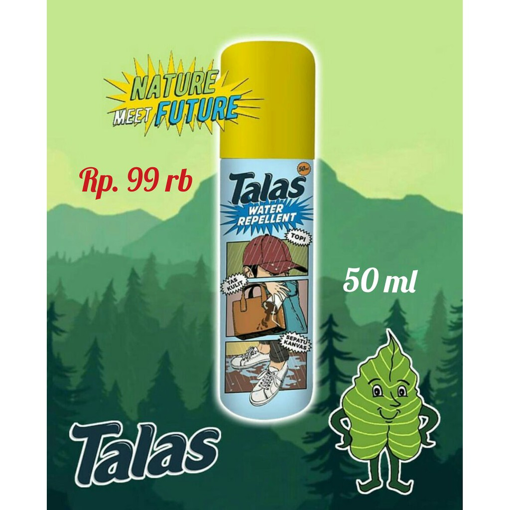 Talas Waterproof Spray | Water Repellent Spray Anti Air Dan Noda | Shopee Indonesia