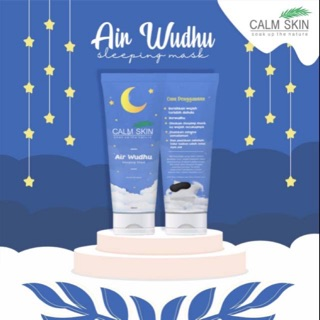 Calmskin Jkt Free Maskom Air Wudhu Sleeping Mask 10 Gr Shopee Indonesia