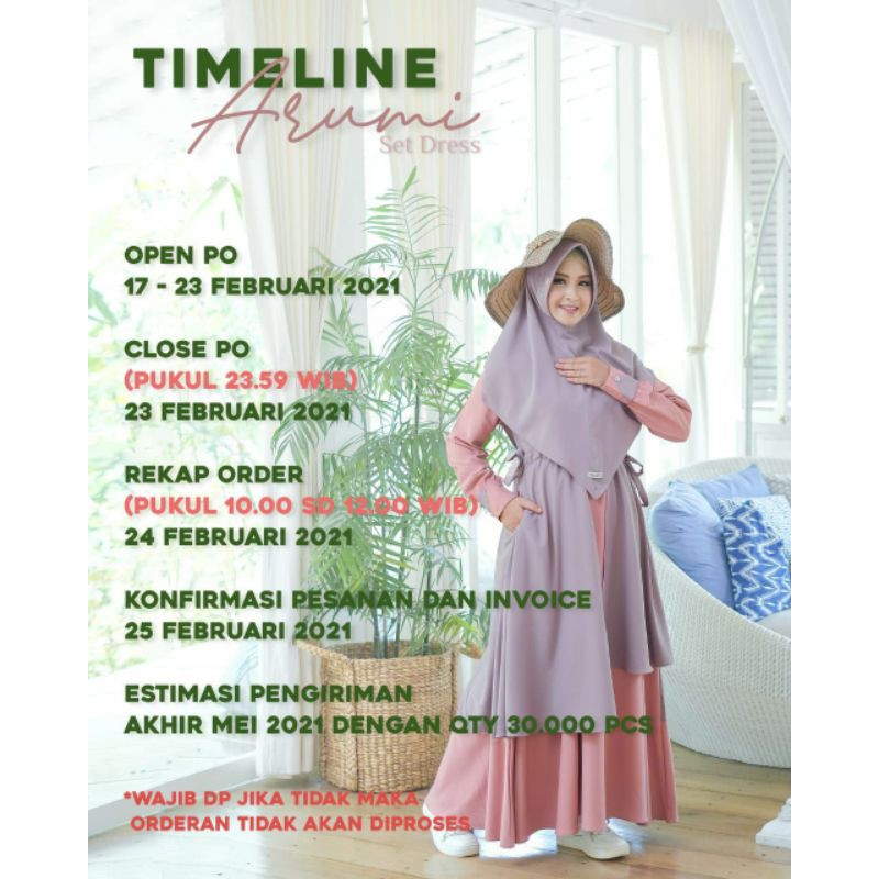 arumi by aden / gamis ori / gamis set hijab / gamismodern12