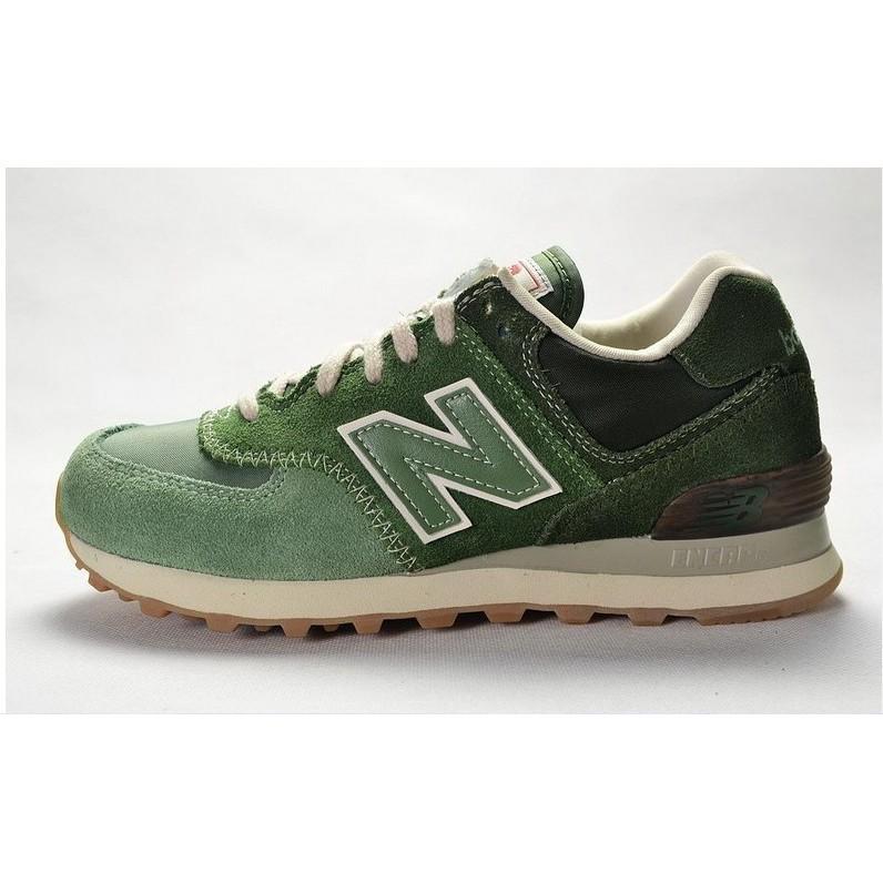 original new balance 574 nb574 green color for men women breathable running  shoe