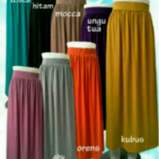 Sale Gamis Size S M L Polos Jersey Super Umbrella No Busui Shopee Indonesia