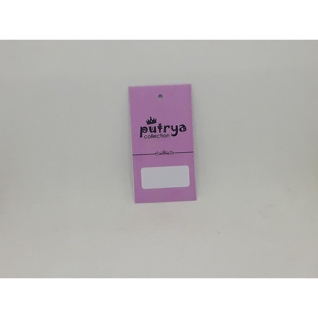 Paket 1111pcs Hangtang & Label Murah 1111 sisi untuk Baju/Hijab/Kaos/Tas/Dll  Bebas Desain 11