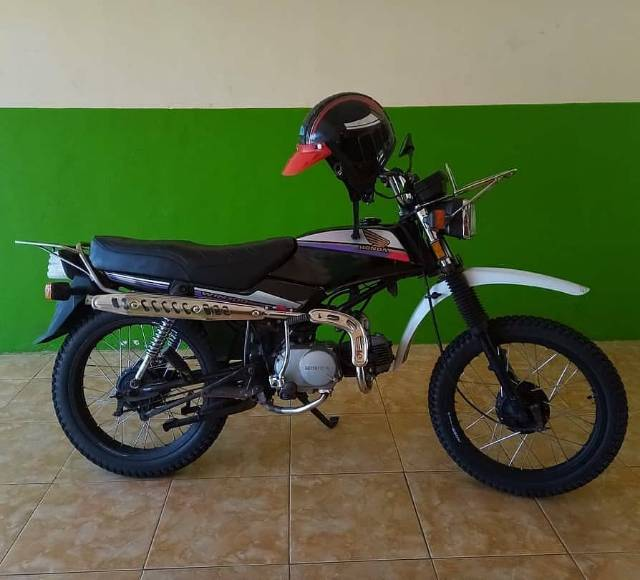 Knalpot Scrambler Cub Series Knalpot Trail Knalpot Naik Motor C70 Honda Win Monkey Gorilla St70 Da Shopee Indonesia