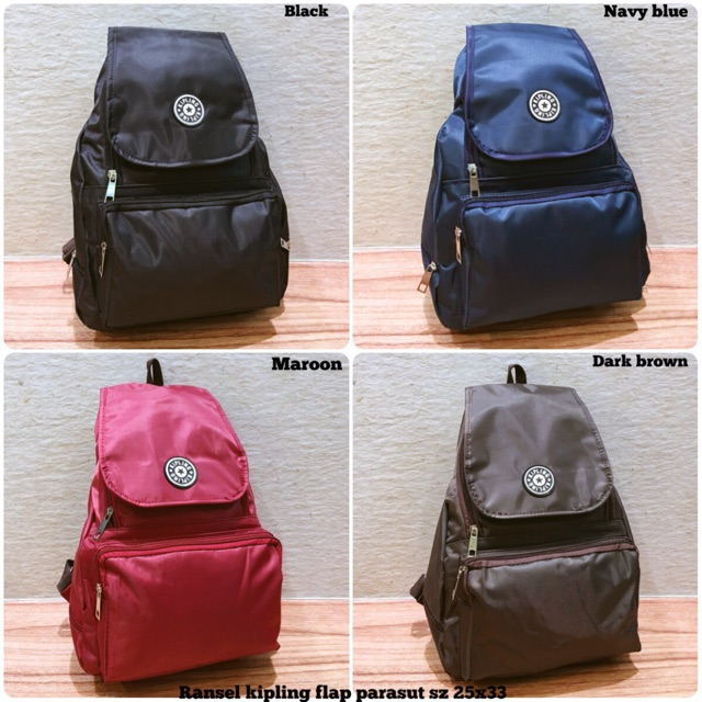Ransel kipling flap tas ransel kipling motif tas selempang parasut tas  santai travel bag tas wanita  7308498b0e